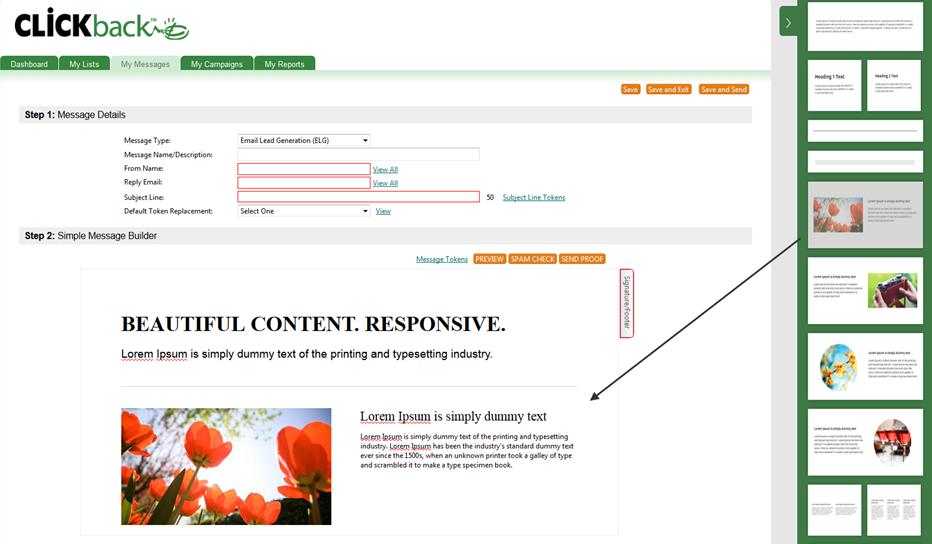 Simple-Message-add-prebuilt-design-blocks