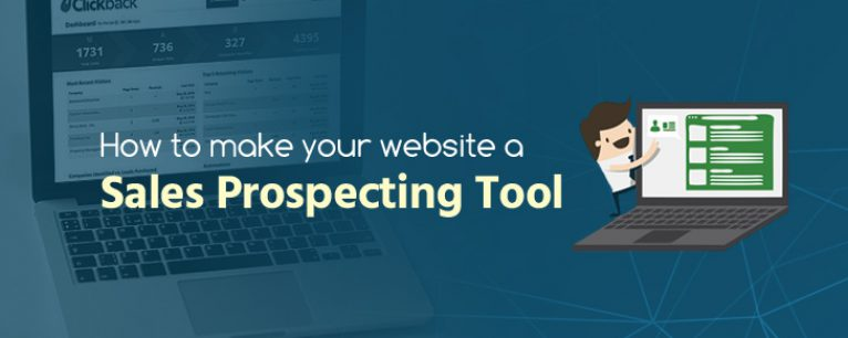 How to Make Your Website a Sales Prospecting Tool
