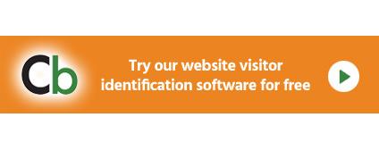 Clickback WEB visitor identification software