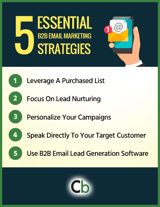 5 essential B2B email marketing tips