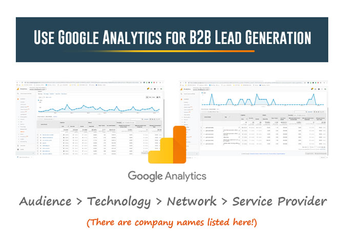 Using Google Analytics for B2B Lead Generation