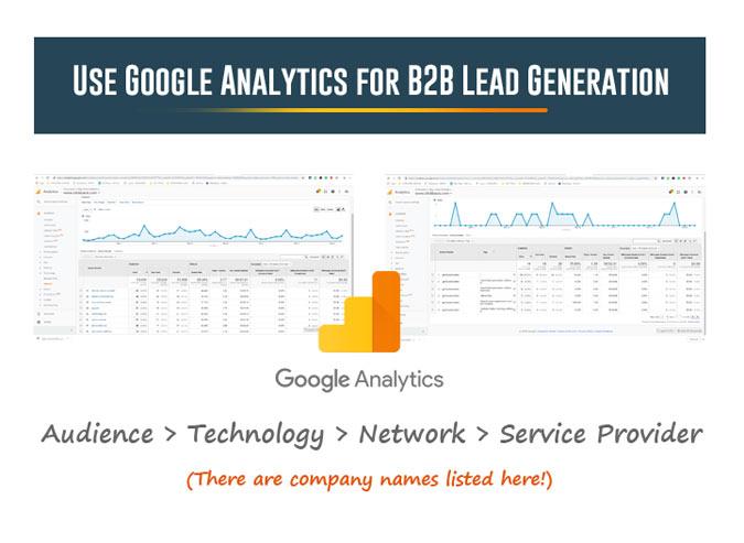 Using Google Analytics for B2B Lead Generation
