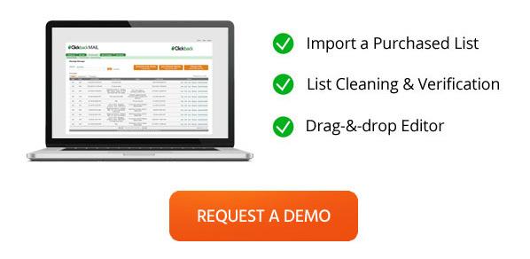 Clickback MAIL demo