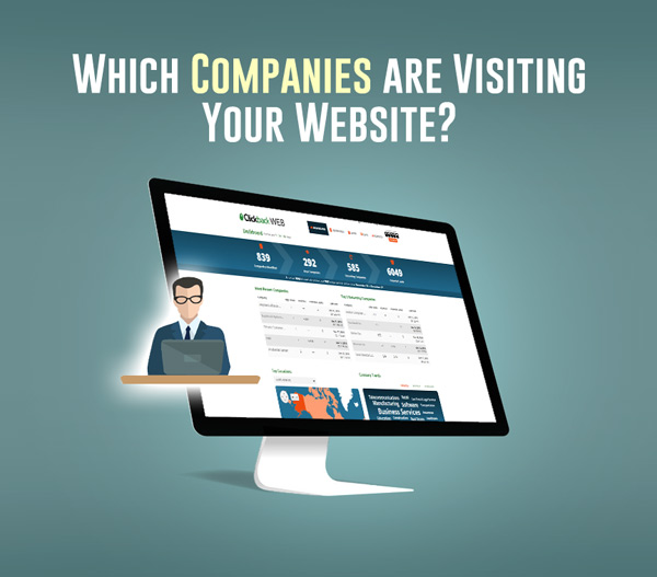 which companies are visiting your website?