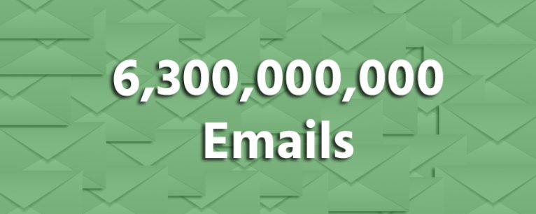 6.3 Billion Lead Generation Emails and Counting